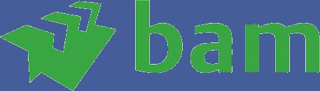 BAM International logo